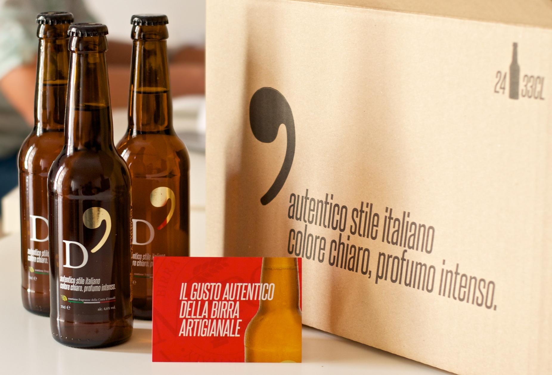 Packaging del prodotto Birra Artigianale D'Ambrosia